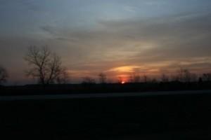 Sunrise ~ 6:30 am (cst)
