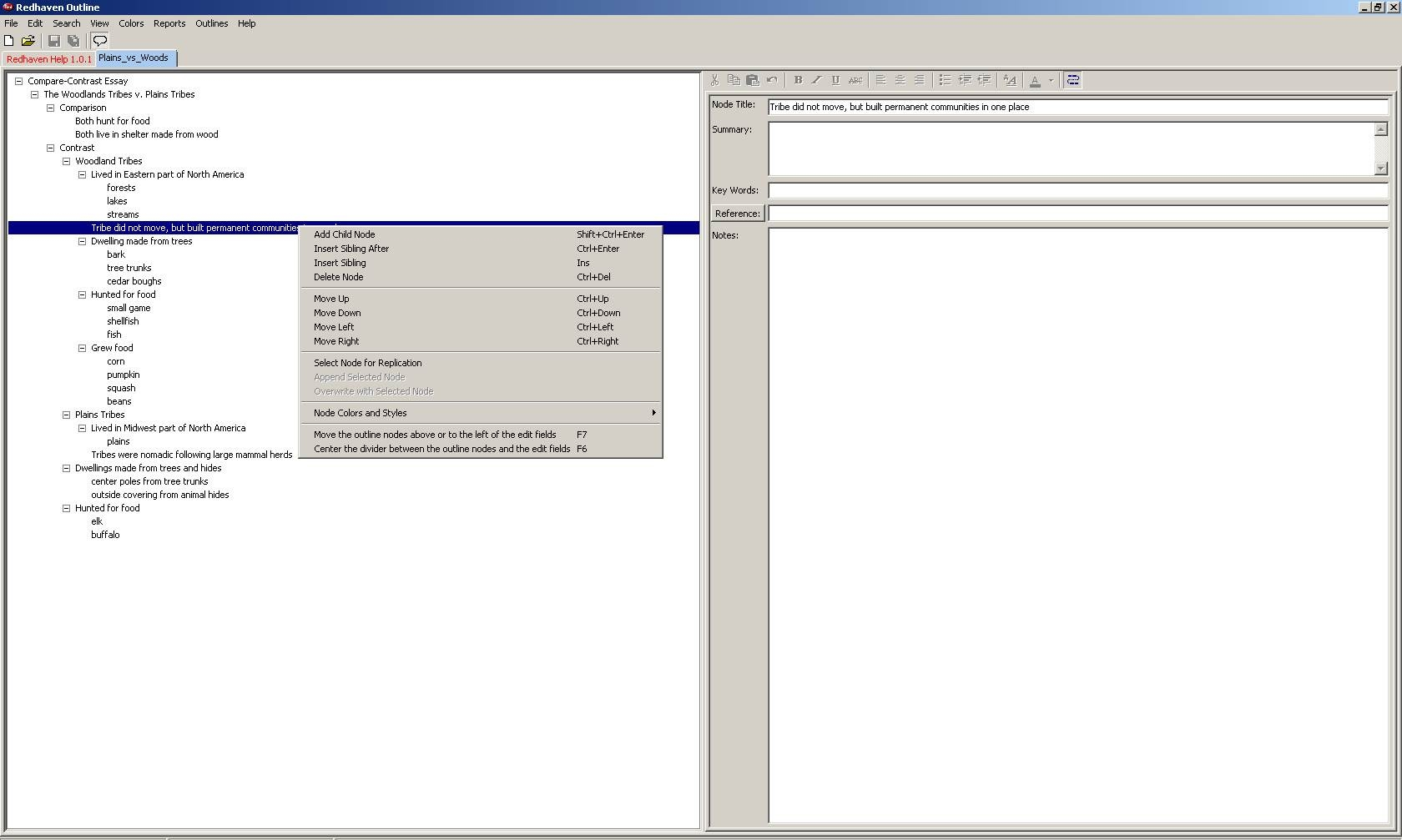 how to generate an outline pdf