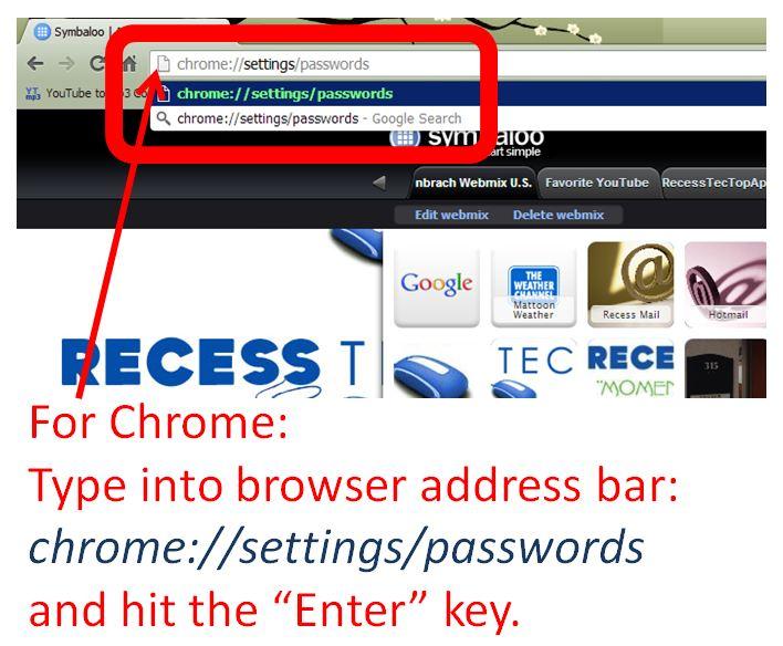 Chrome Step 1